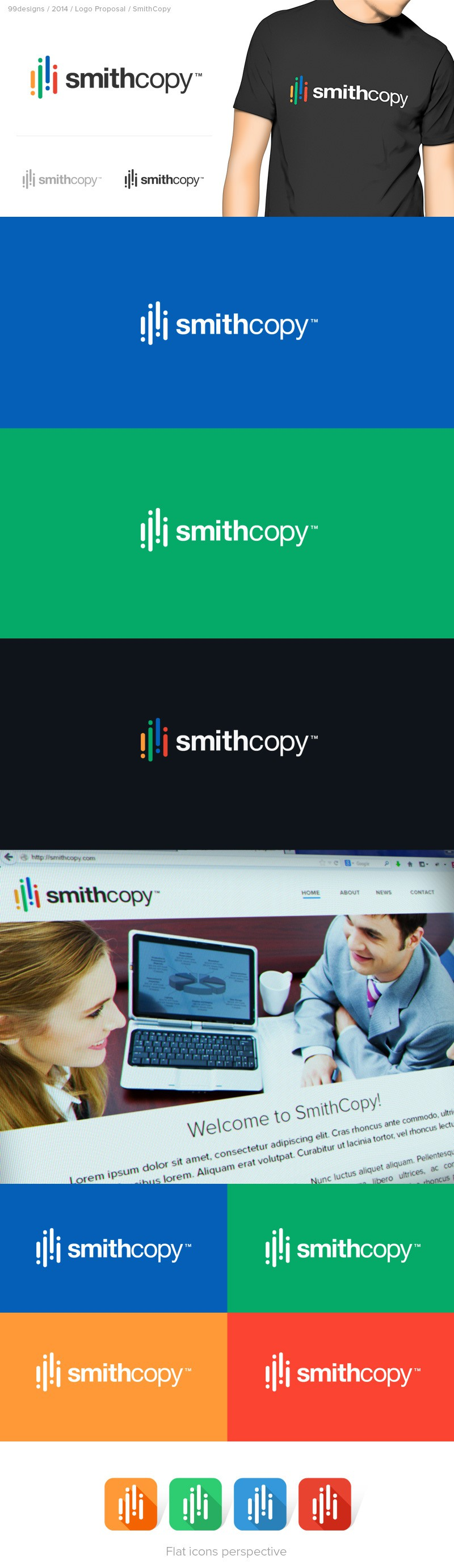 Need a Modern & Clean Logo for New Online Advertising & Copywriting Firm