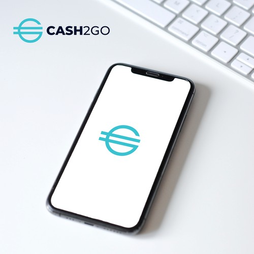 Cash2Go Logo | Technology Logo | Cash Logo | Money Logo