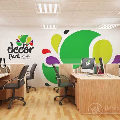 Decor Park Logo & Brand Identity
