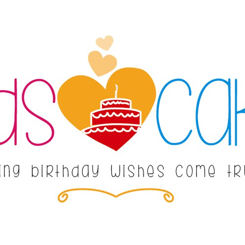 Great new logo needed for Kids Heart Cake