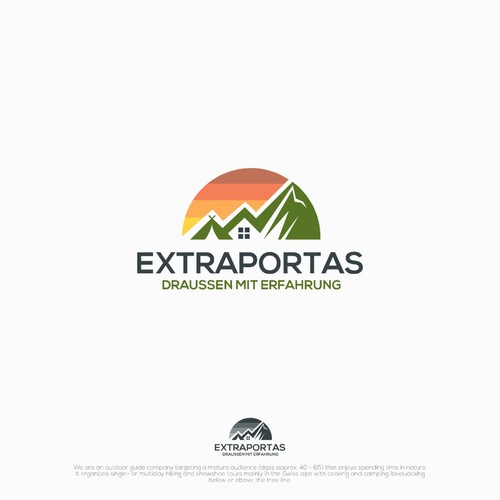 Logo concept for Extraportas