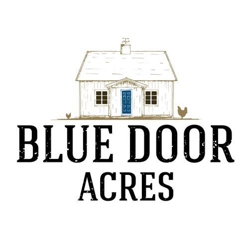 blue door logo