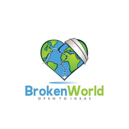 Help Broken World with a new logo