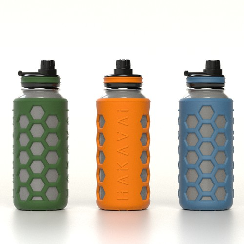 Design for silicon bottle sleeve
