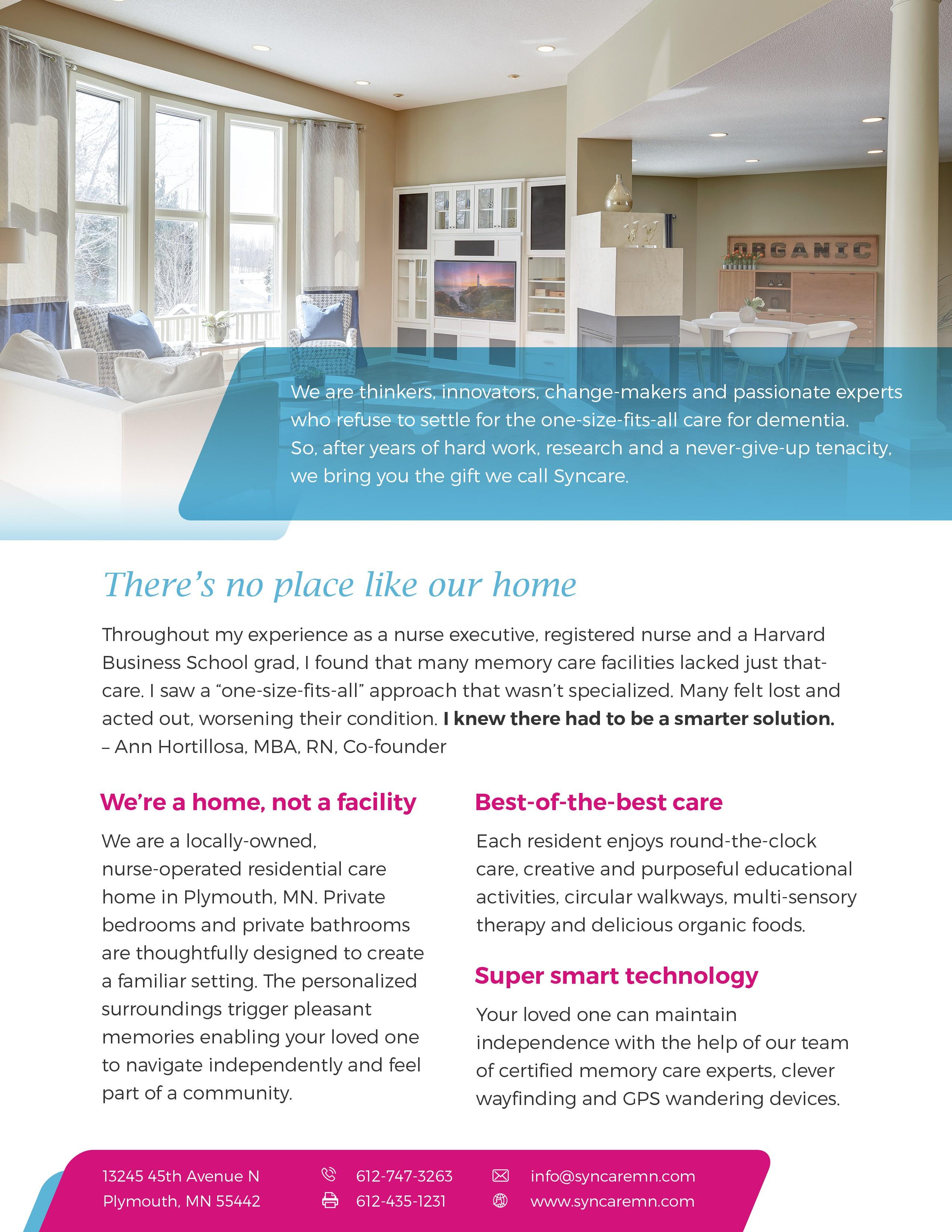 New company brochure