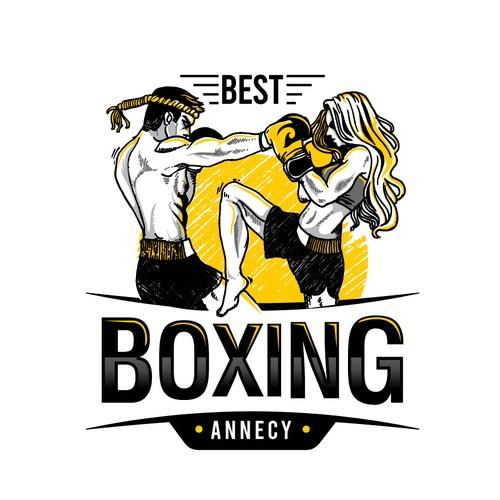 kickboxing logo