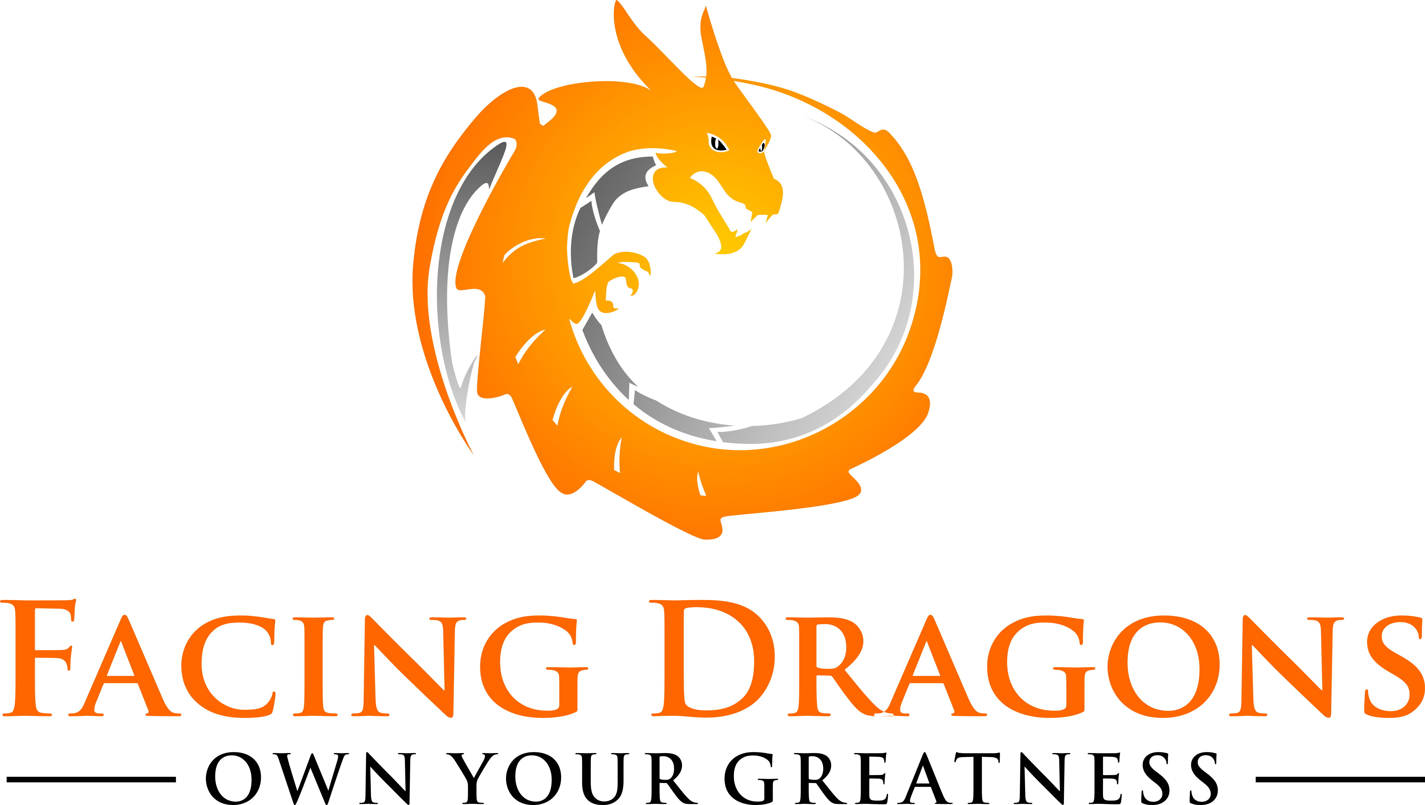 Develop a bold, fun & alive brand and logo for Facing Dragons.