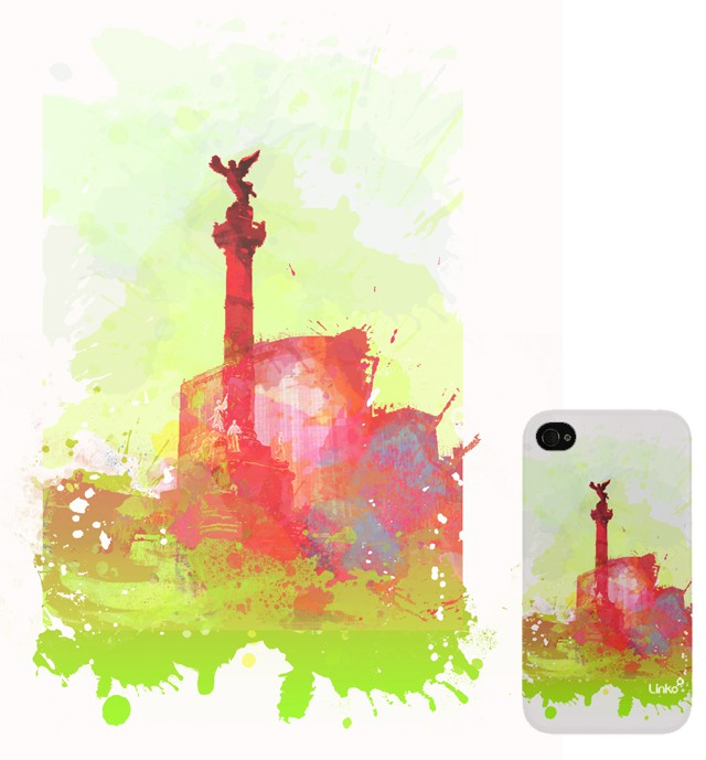 awesome Iphone case Design for LINKO