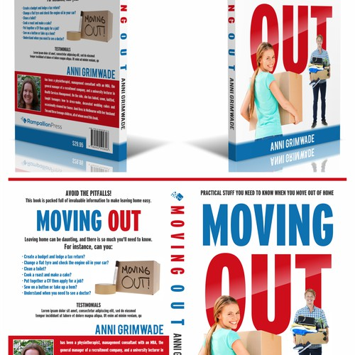 """Design a fantastic cover for my book """"Moving Out!"""""""