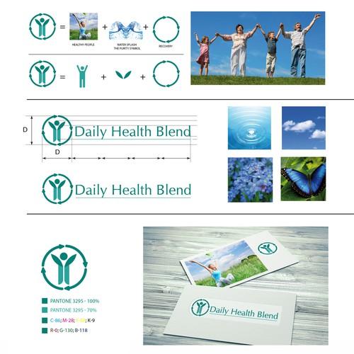 Daily Health Blend Logo Design