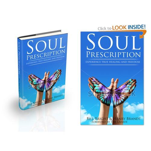 "Create a new captivating book cover for ""Soul Prescription"""