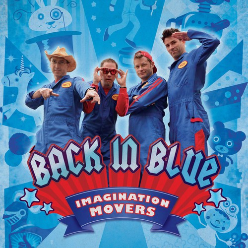 Imagination Movers  needs a new postcard, flyer or print