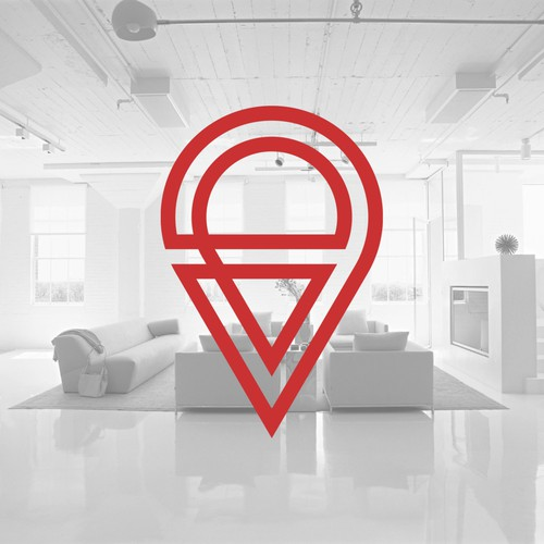 BACK TO IBIZA - a Logo for a trendy apartment rental company.