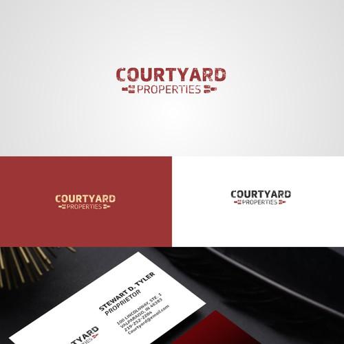Bold logo for COURTYARD PROPERTIES