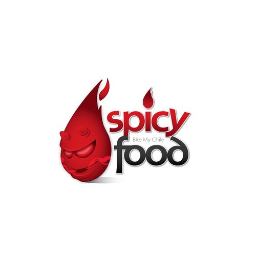 "Logo for ""Spicy Food"""
