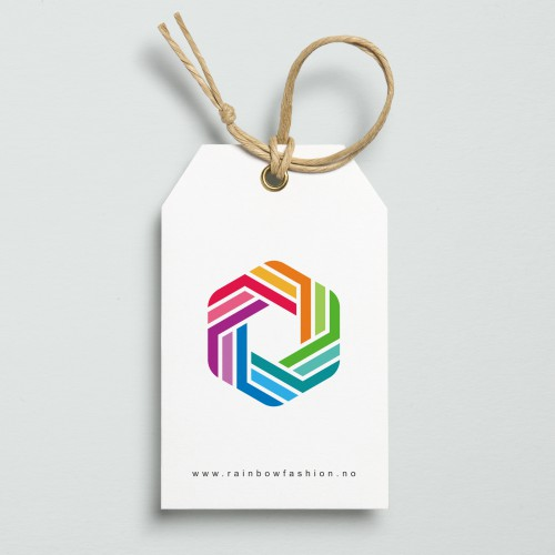 Logo design for Rainbow Fashion