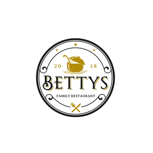 a vintage logo for grandma Betty