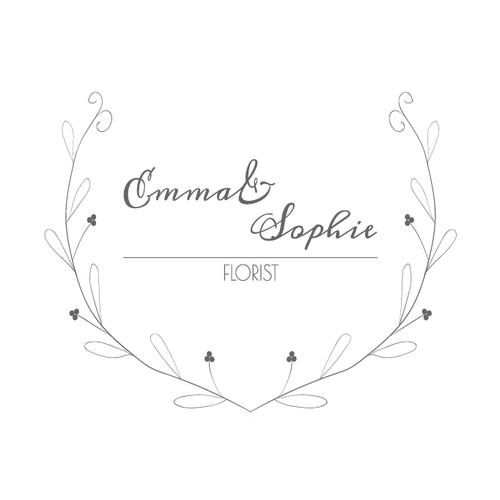 Emma & Sophie florist logo