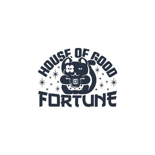 Whimsical logo for unique blog