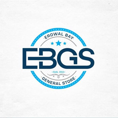 Simple Classic logo for Erowal Bay