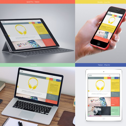Modern, clean Blog design needed for new website on Digital Product trends and news
