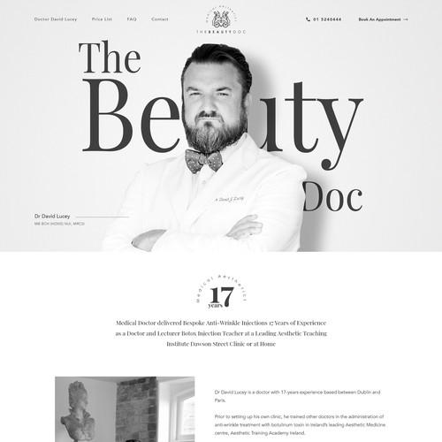 The Beauty Doctor Website