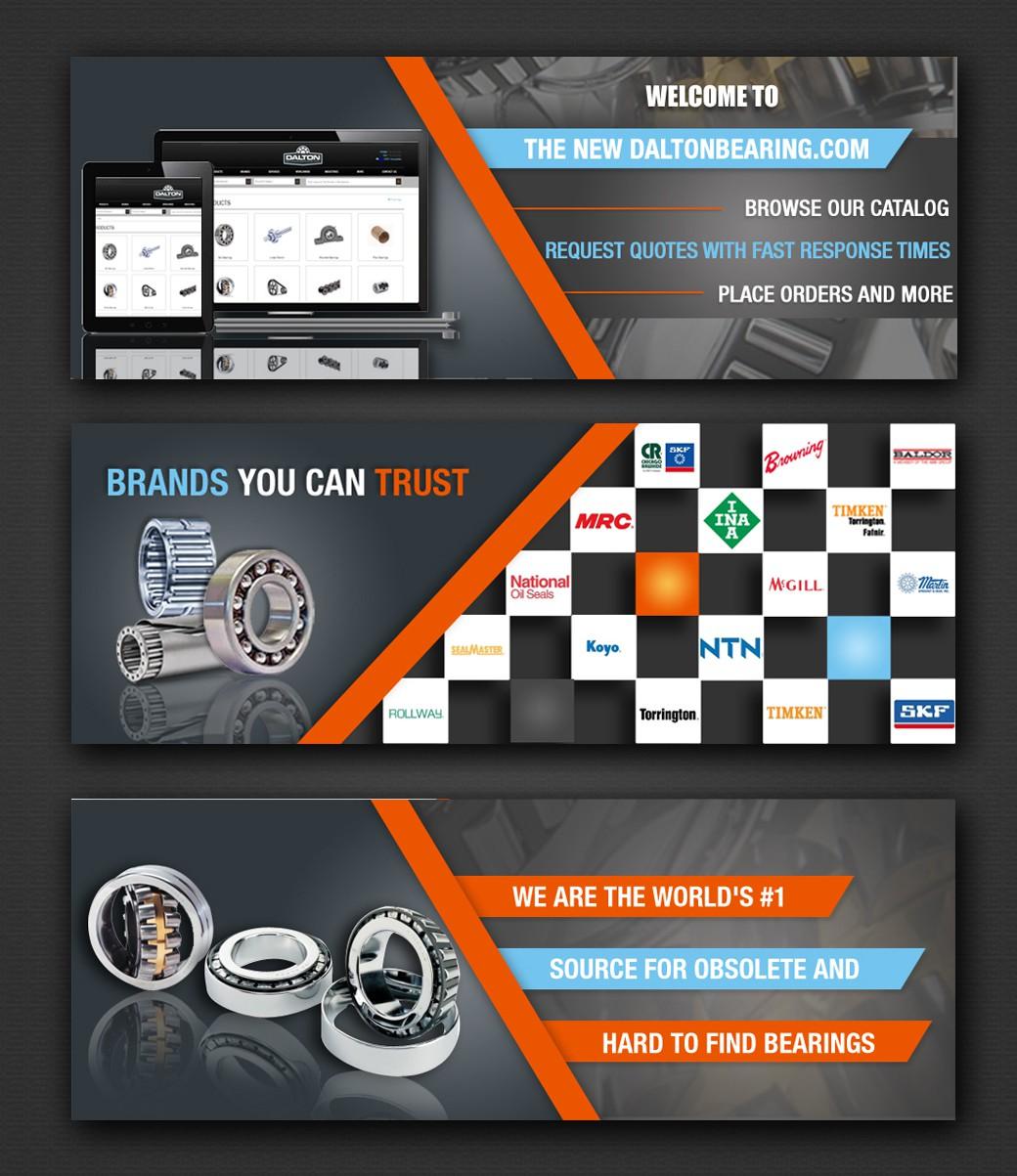 Slider graphics for new website's homepage