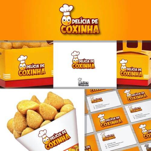 Logo For: Delicia De Coxinha
