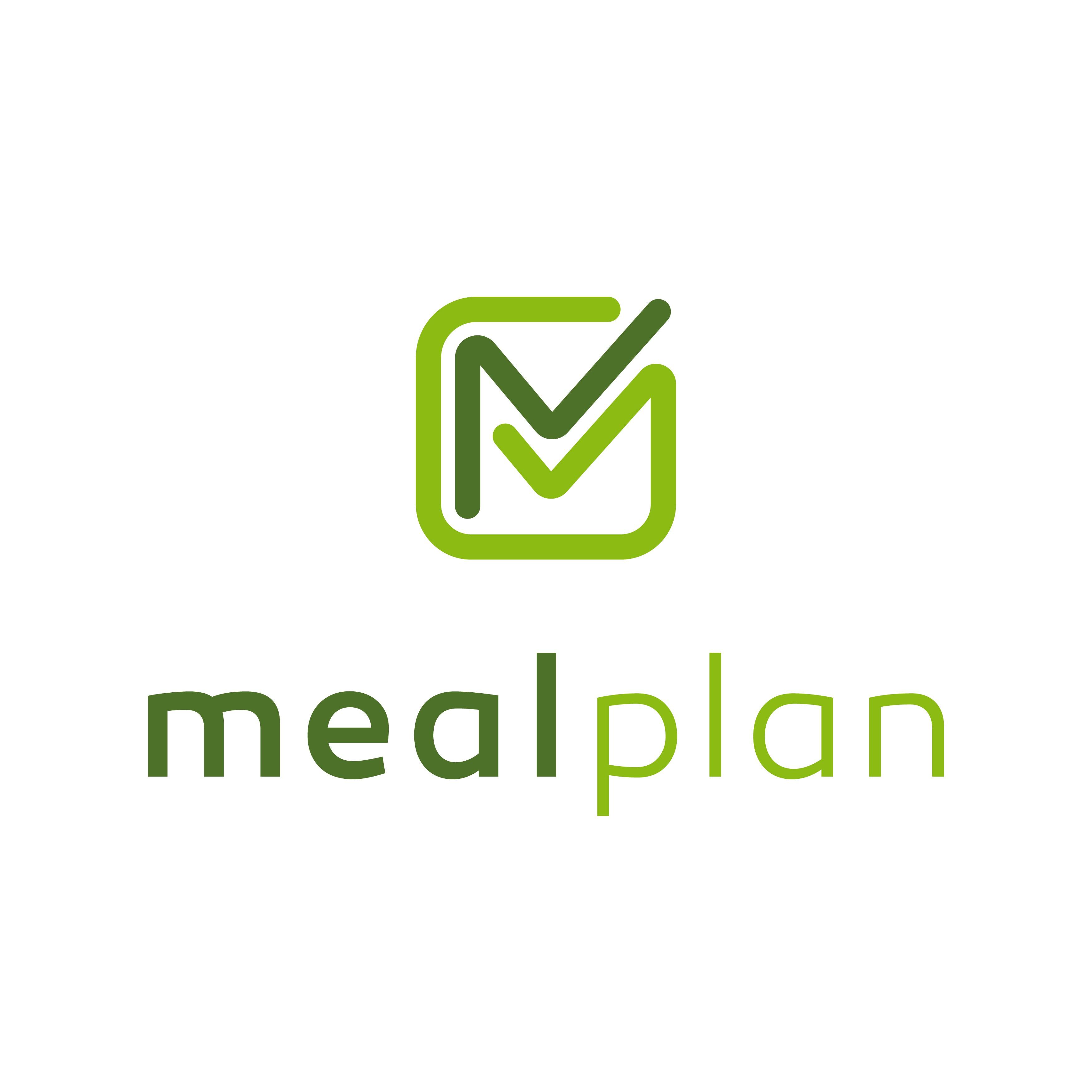 Mealplan logo design