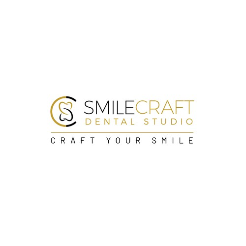 SmileCraft Dental Logo