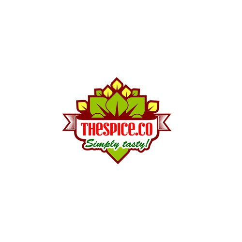 Bold logo for spices
