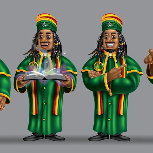 Rastafarian Priest