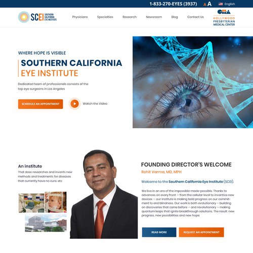 SOUTHERN CALIFORNIA EYE INSTITUTE