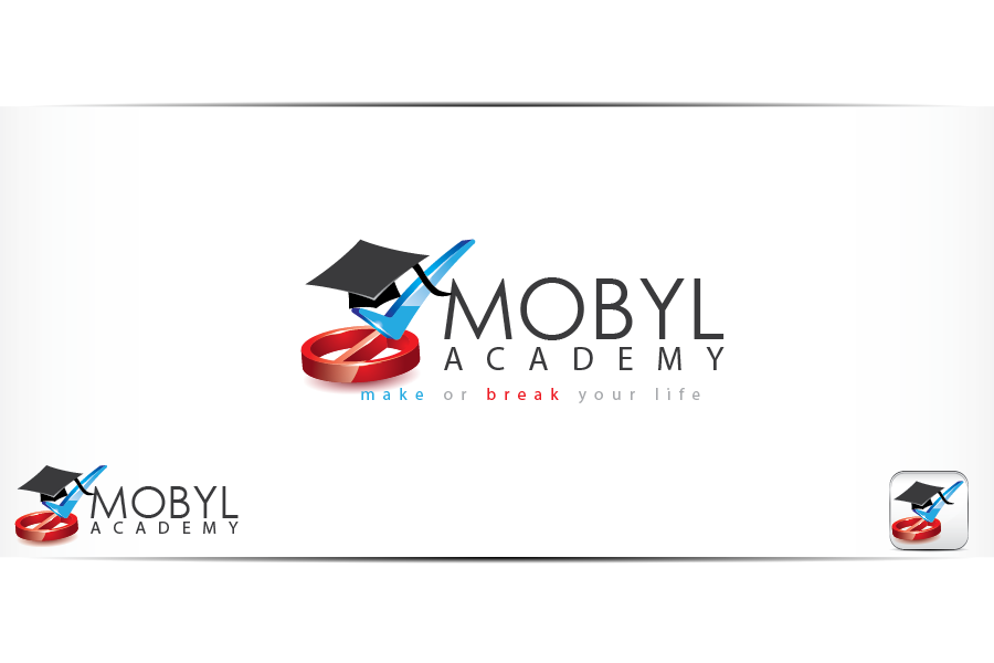 Create the next logo for MOBYL Academy