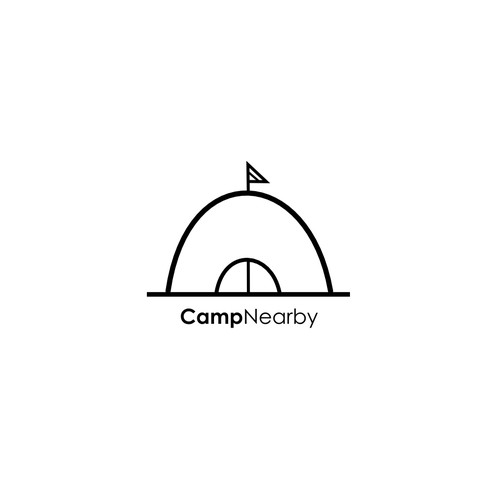 Logo for camping.