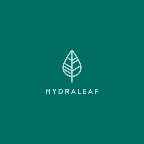 logo design for hydraleaf