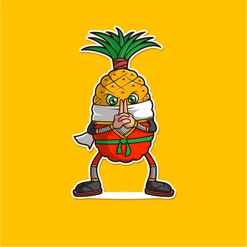 a fun ninja mascot for Ninja Support