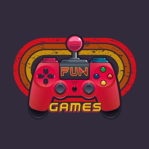 Logo Concept for a arcade room