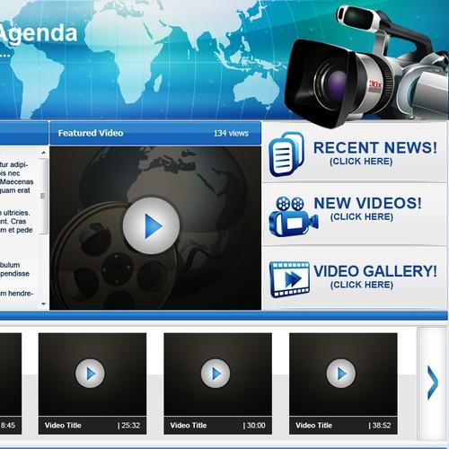 Website for International Video Producer