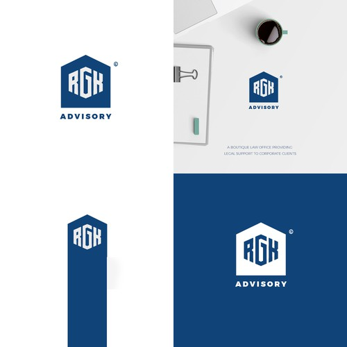 a logo for a law company