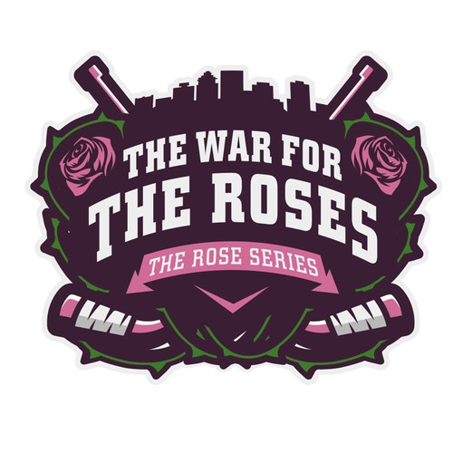 Logo for girls hockey tournament