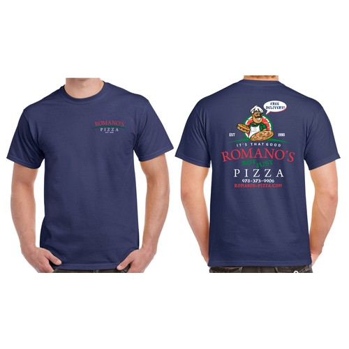 Romano's Pizza T-Shirt