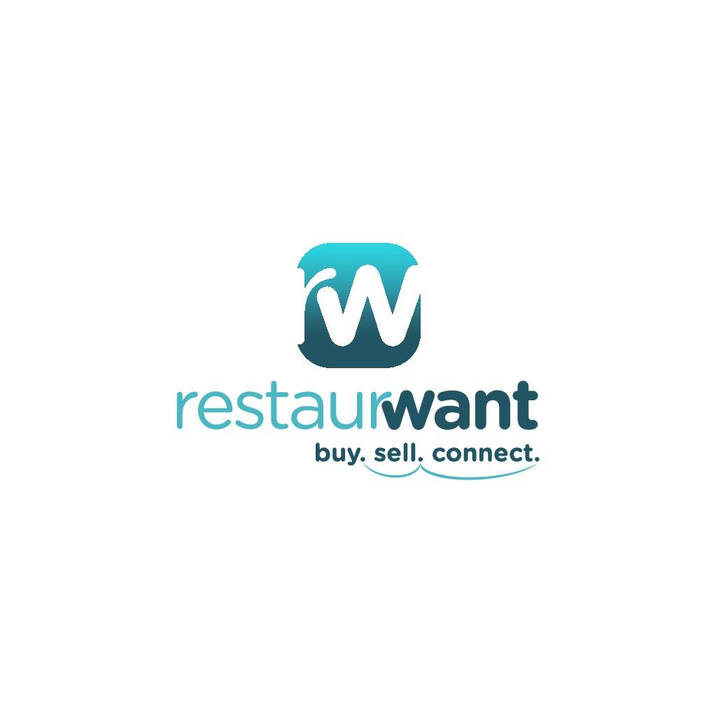 Head-Turning logo for restaurant equipment marketplace app