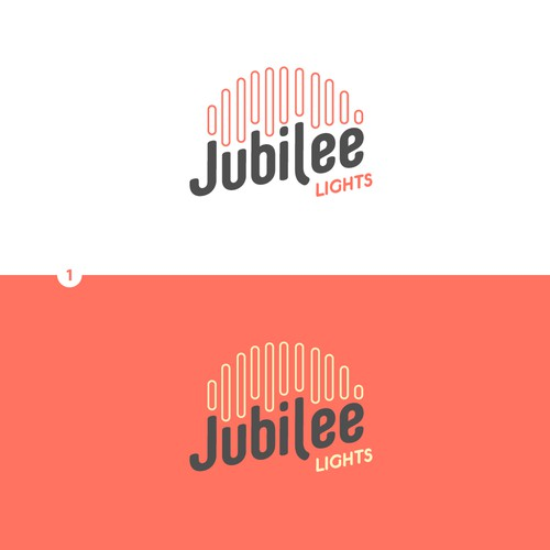 Product logo for a new line of party and wedding lights.