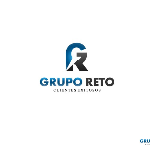 Create the next logo for Grupo Reto