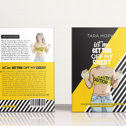 Book Cover & Backcover for Breast Implants Illness awareness