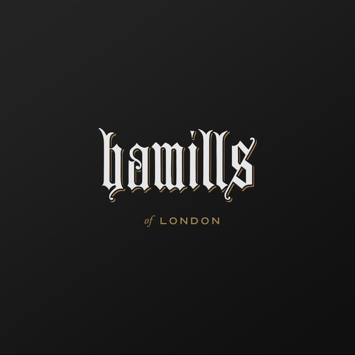 Logo concept for Hamills of London