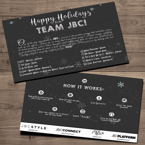 JBC Holiday Card