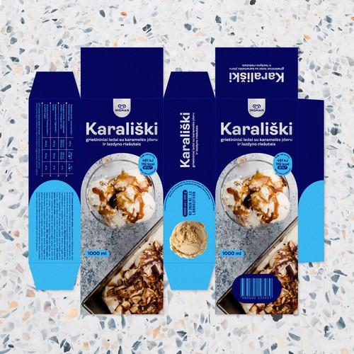 Ice-cream packaging design