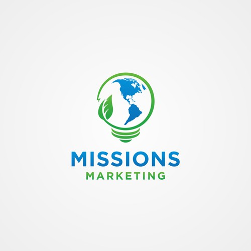 Logo design for Missions Marketing